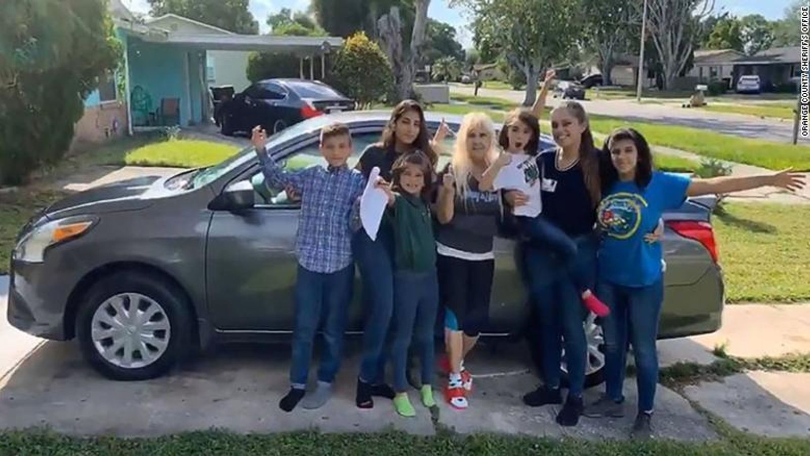 Young woman raising her five siblings alone surprised with ...