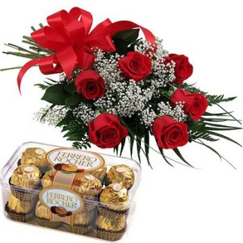 Dubai In the name of Love   Flower Delivery   12 Red Roses  Gypso     100 Red Roses  USD 211 26  Dubai online Florist   In the name of Love  Bouquet