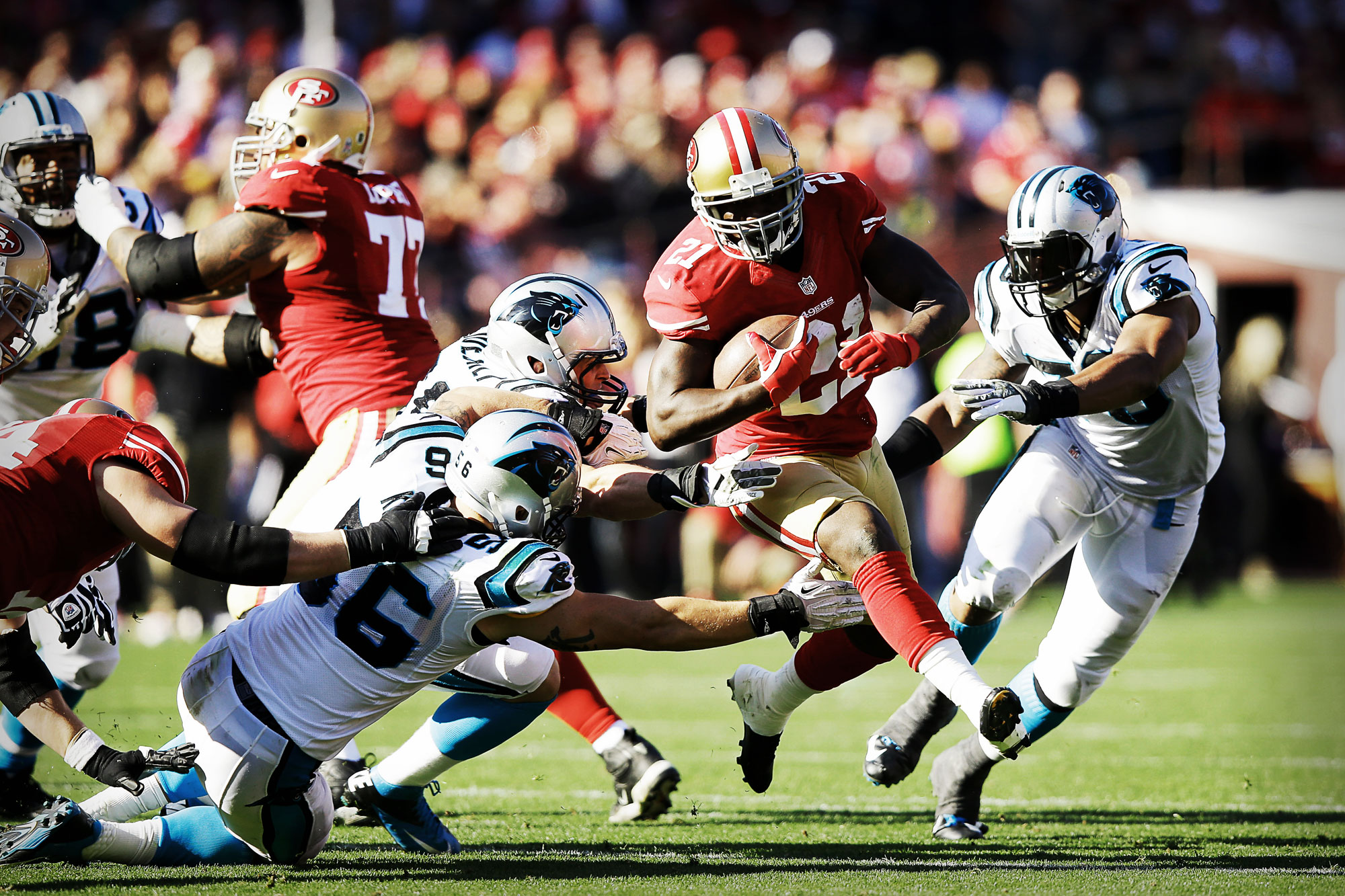 Kaepernick 49ers Vs Panthers Playoffs