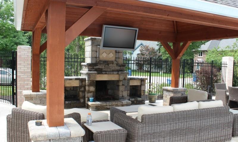 Backyard Enclosed Patio Ideas