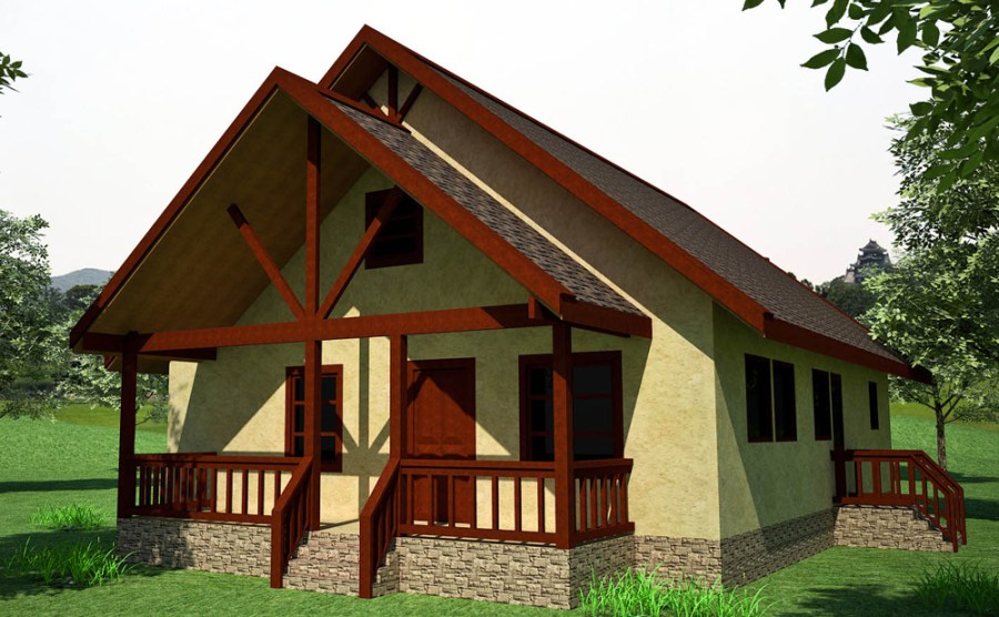 Earthbag House Plans   Small  affordable  sustainable earthbag house     Custom Crow  click to enlarge