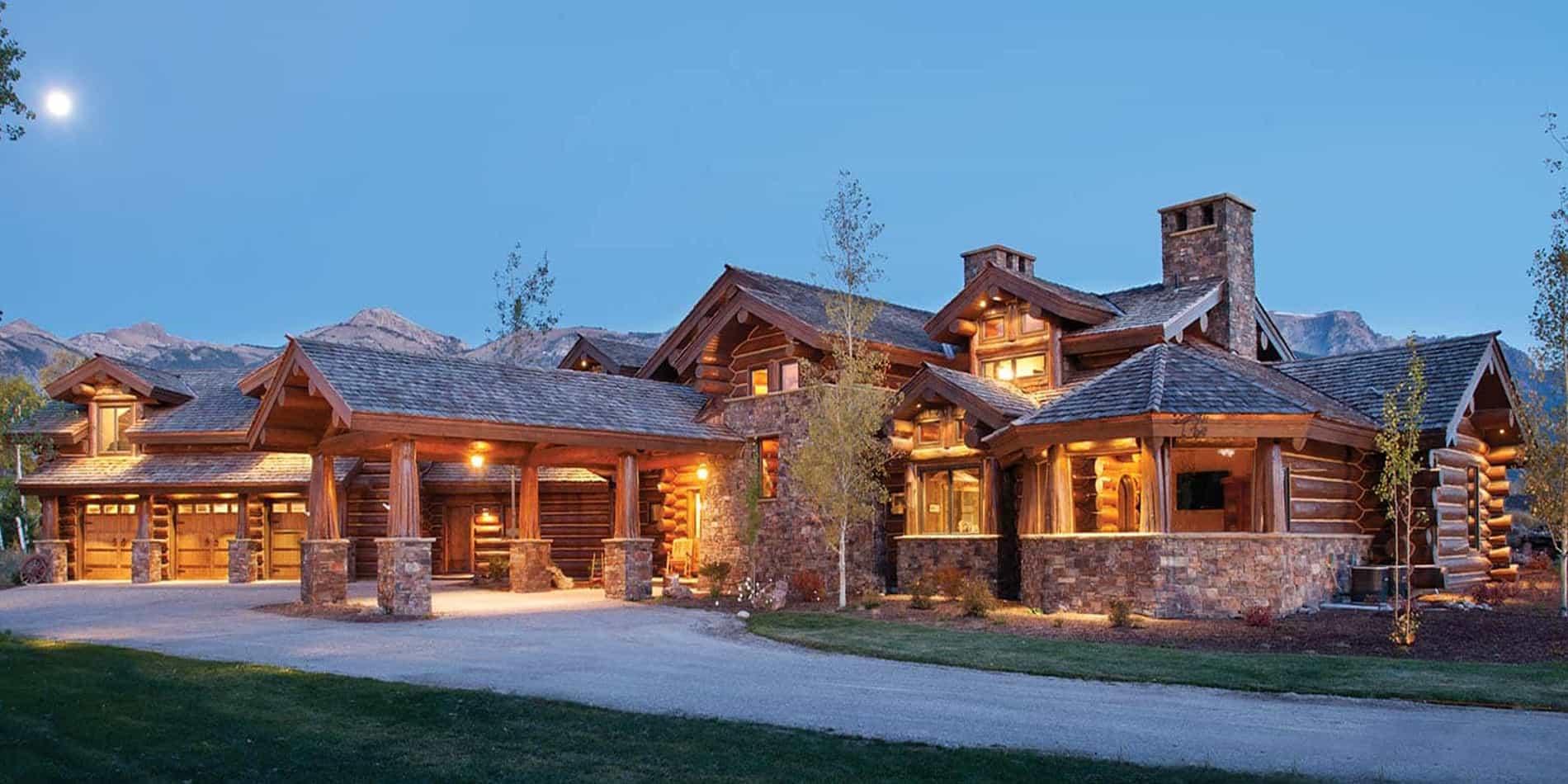 Montana Log Home Companies