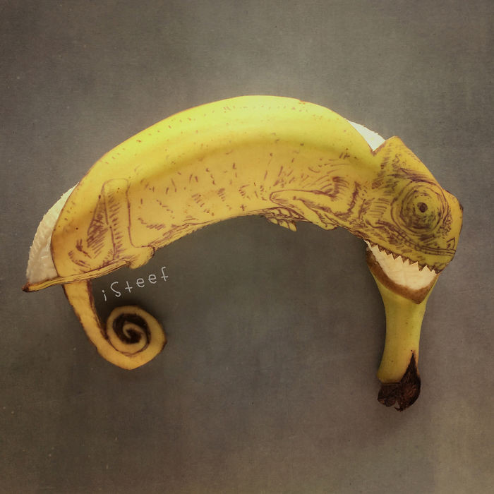 Bananarts Cool Banana Sculptures By Isteef Earthly Mission