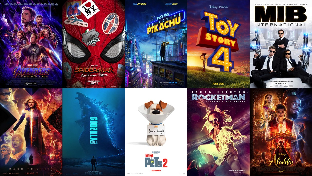 Top 10 Summer Movies: 2019 Edition!   East Side News