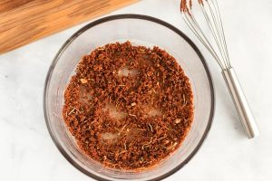 Whisk together all of the rub ingredients.
