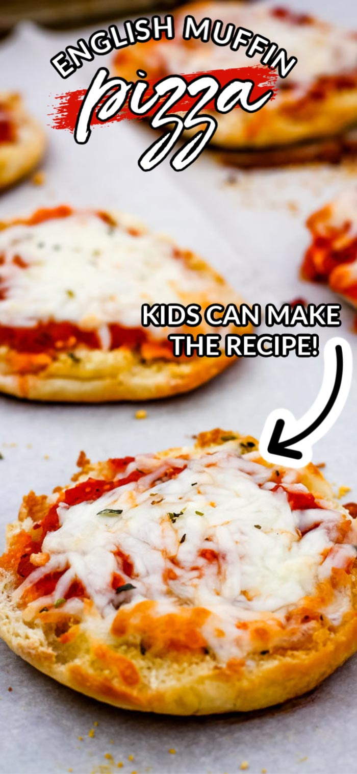 These English Muffin Pizzas are a lunchtime favorite! They take 20 minutes to make, serve 6, and cost $4.33 to make. That's just 72¢ per serving. via @easybudgetrecipes
