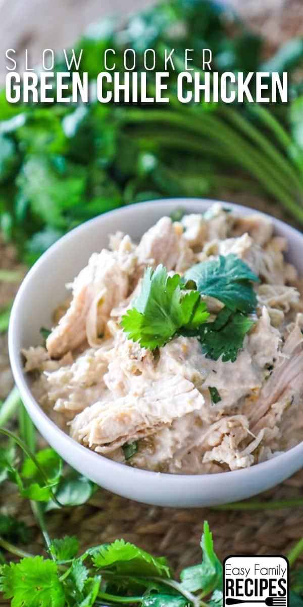 Creamy Green Chile Chicken Recipe