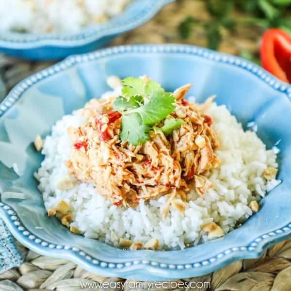 Crockpot Thai Chicken