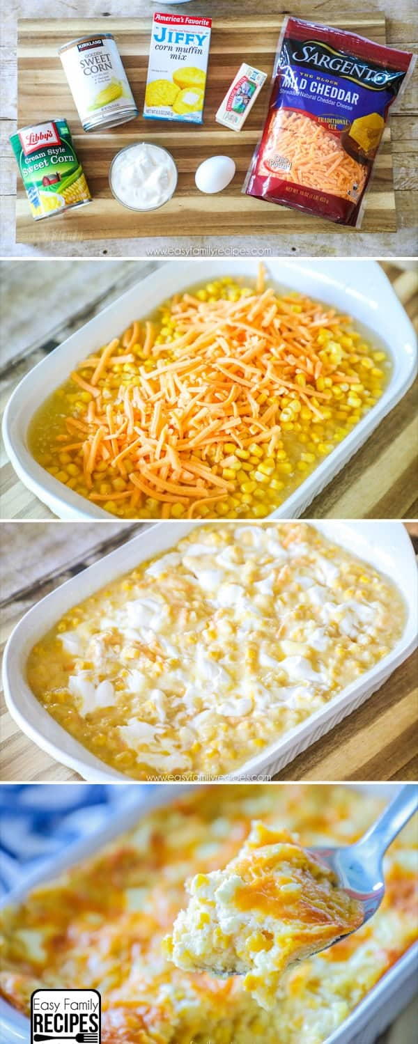 How to make the BEST Corn Casserole