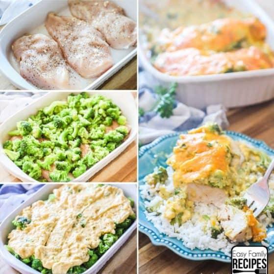Chicken Broccoli Cheese Casserole Instructions