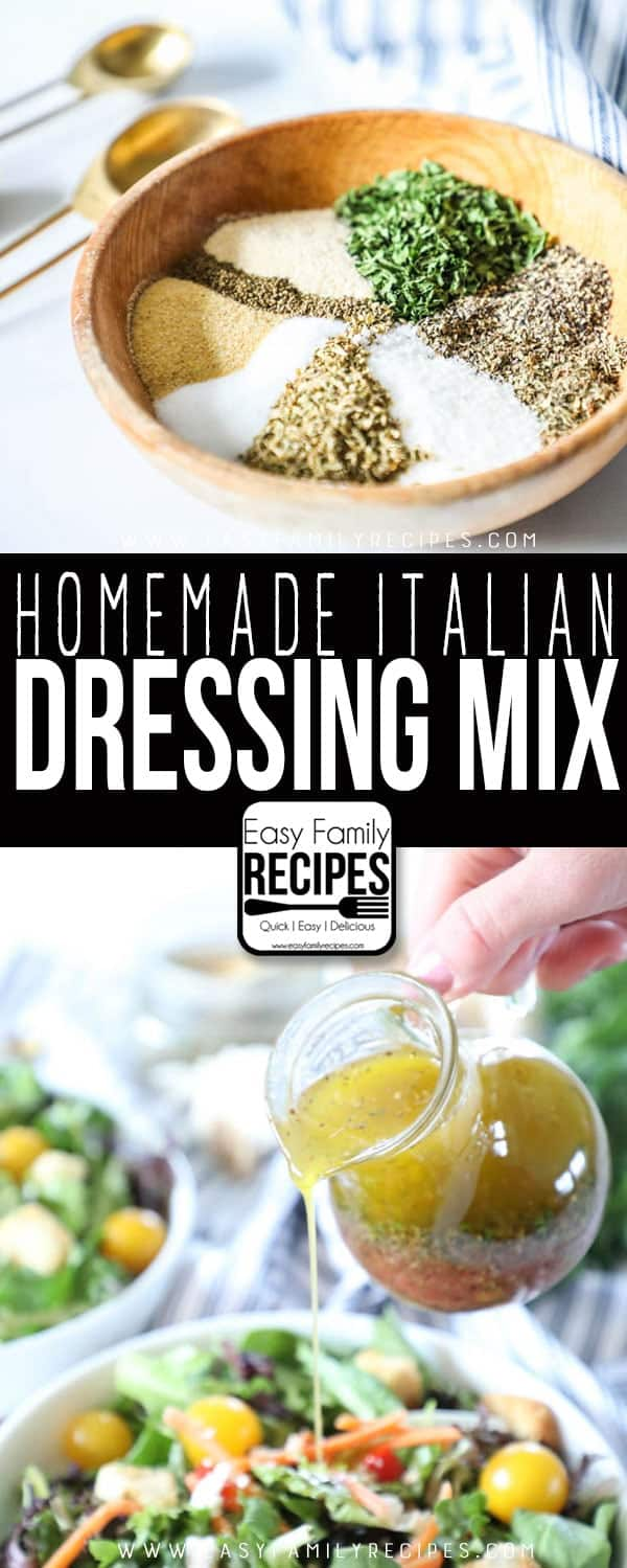 THE BEST Italian Dressing Mix- Just like you buy at the store!