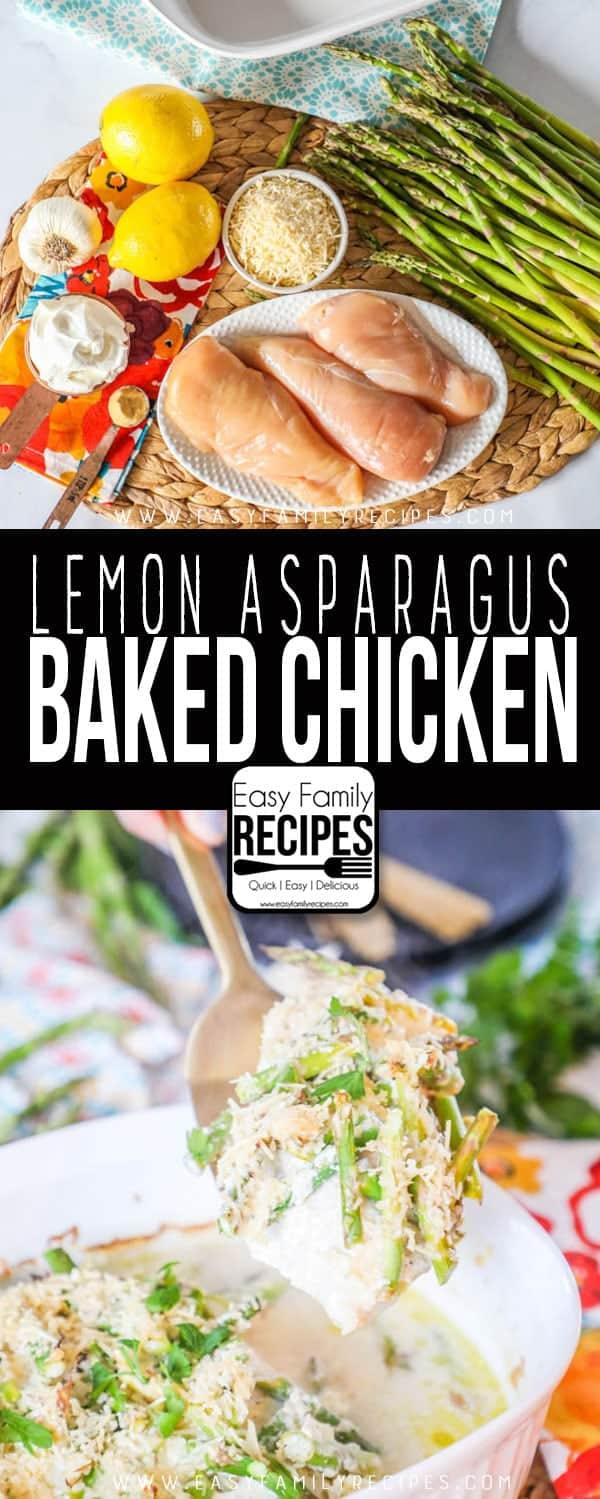 The BEST Lemon Asparagus Chicken