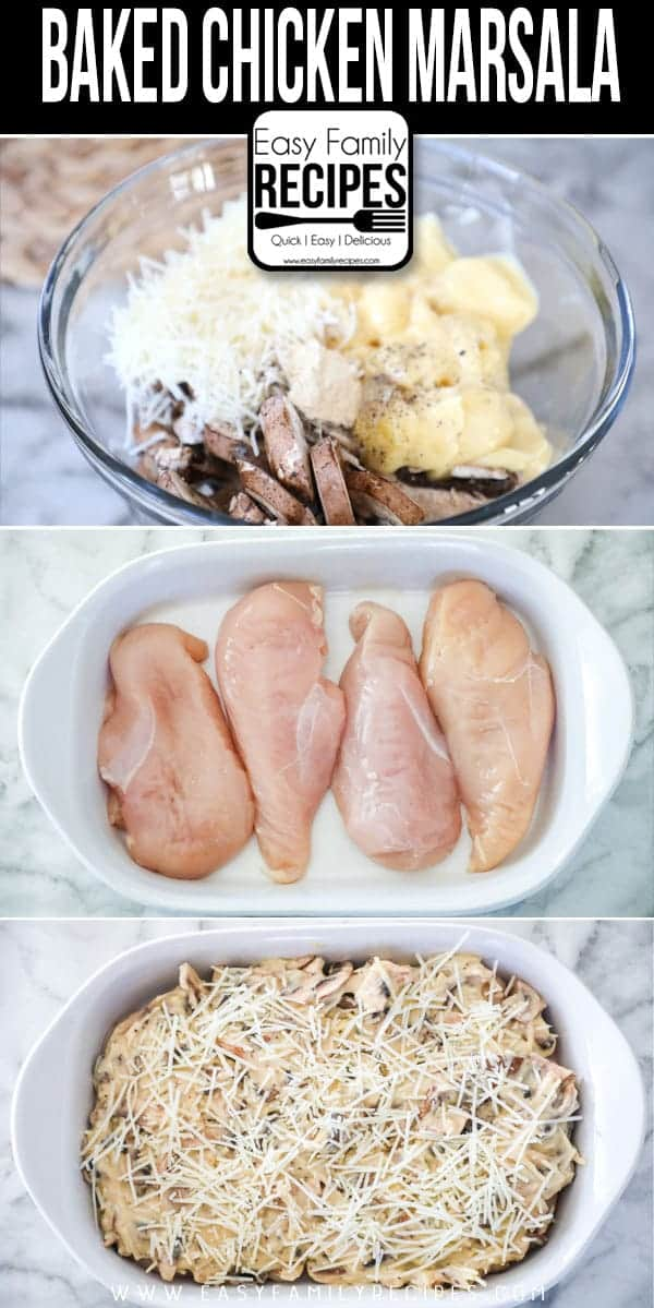 How to make The BEST Baked Chicken Marsala