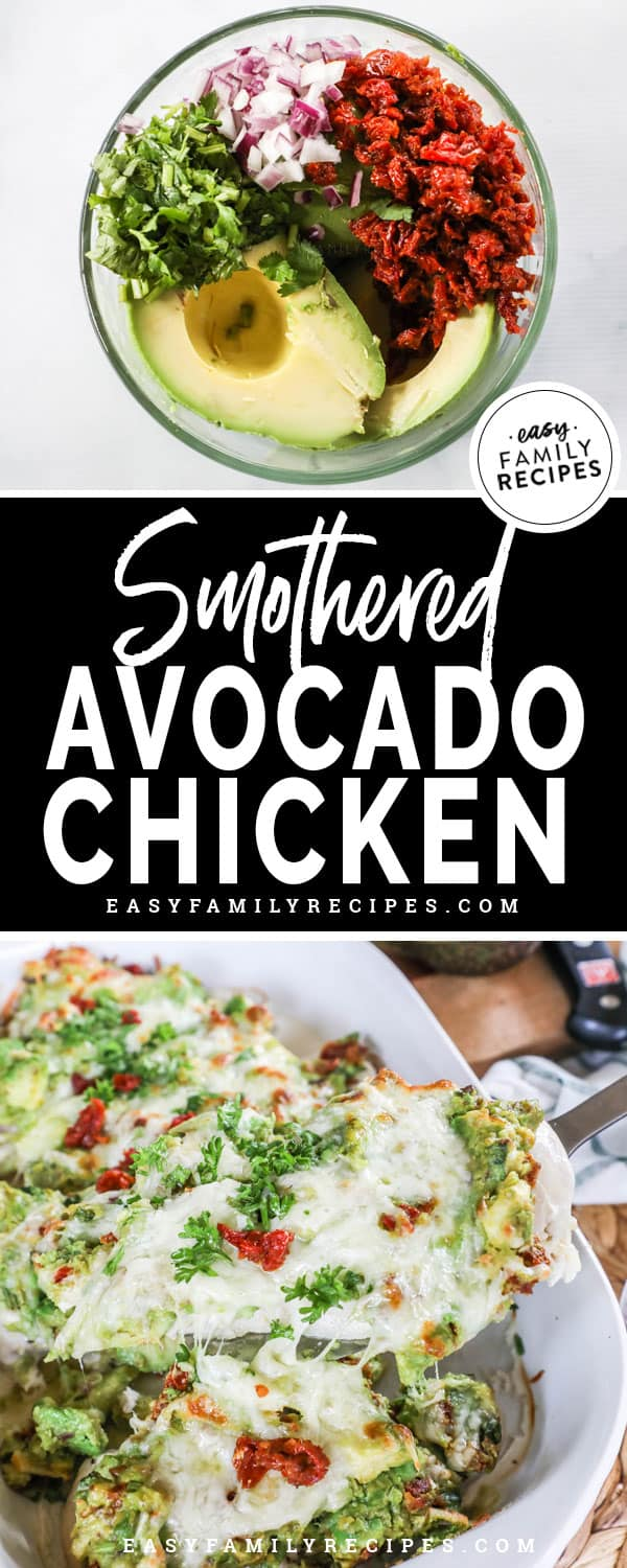Avocado Smothered Chicken Ingredients