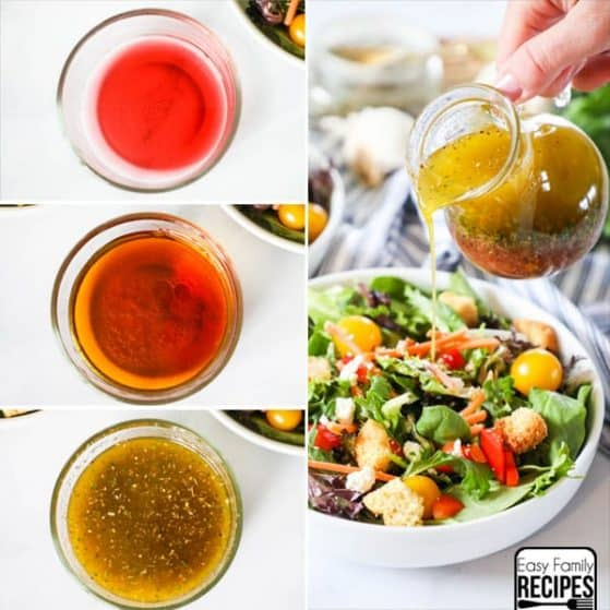 Quick and Easy Red Wine Vinaigrette is a perfect salad dressing.