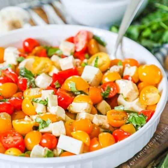 Recipe for Tomato Salad.