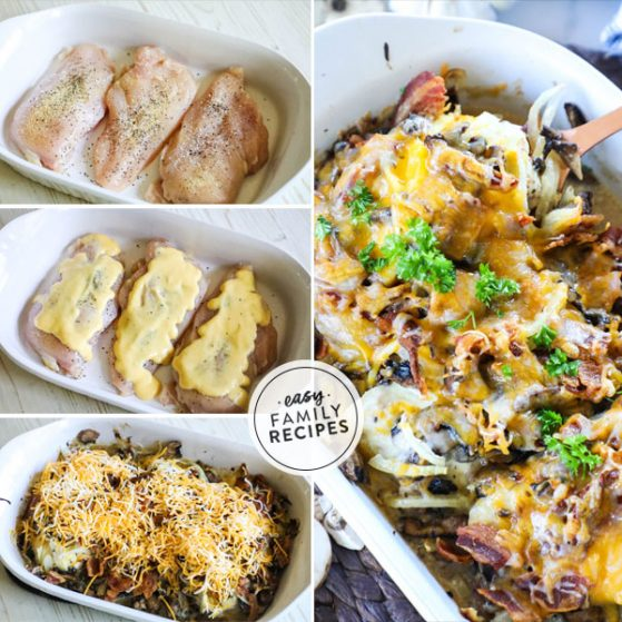 Baked Alice Springs Chicken - Step by Step