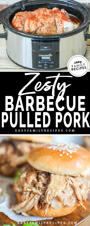Zesty Crock Pot Bbq Pulled Pork Easy Family Recipes