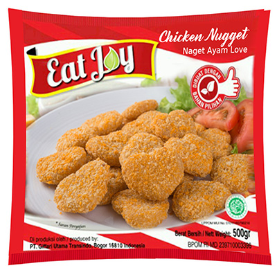 eat joy chicken nugget love