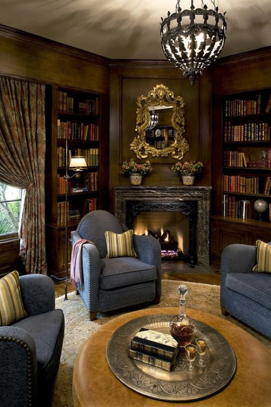 35 Ideas And Designs For Your Home Library