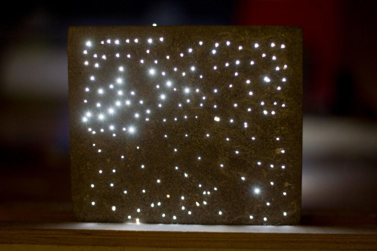 Light Transmitting Concrete Eb Designs