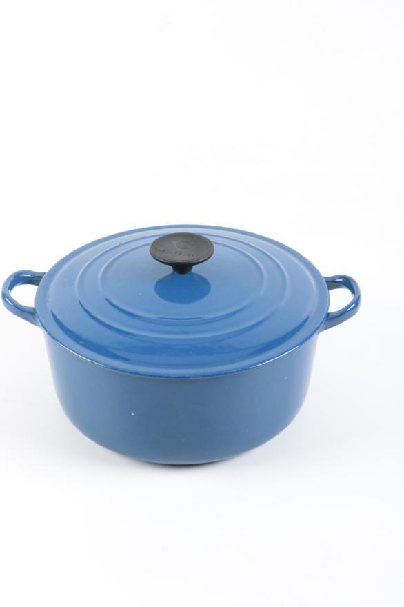Vintage Enamel Cast Iron Cookware