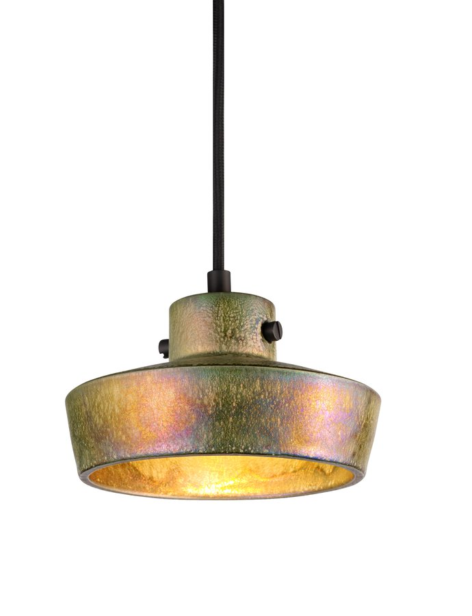 Lustre Flat Pendant by Tom Dixon       ECC Lustre is the first stoneware object in the collection and is handmade in a  Dutch family run factory established over 5 generations