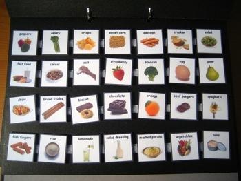 150 Food Photo Pecs Pdf Printable Pecs Or Mini Flash Cards Aba By Sentoys