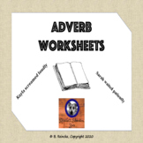Adverb Worksheets Teaching Resources   Teachers Pay Teachers