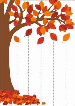 Autumn Fall Preschool Centers By Lavinia Pop Tpt