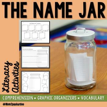 The Name Jar Literacy Activities by Mom2punkerdoo | TpT