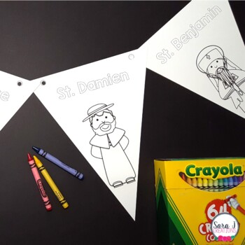 Catholic Saint Banners By Sara J Creations Teachers Pay