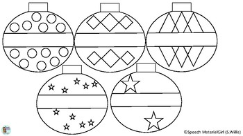 christmas ornament coloring page # 8