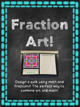 Equivalent Fraction Art Project By Kemcreations Tpt