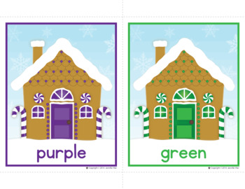 Gingerbread Activities | Gingerbread Man Color Match and ...