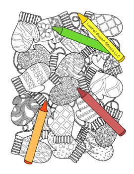 mittens coloring page # 71