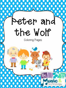 peter and the wolf coloring pages # 12