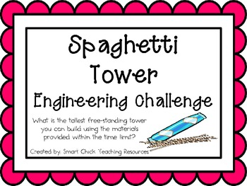 Spaghetti Tower Engineering Challenge Project Great