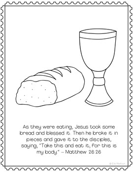 the last supper coloring page # 32