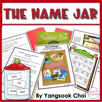 THE NAME JAR | Book Companion and Back to School ...