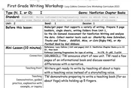 Lucy Calkins Writing Paper First Grade Floss Papers