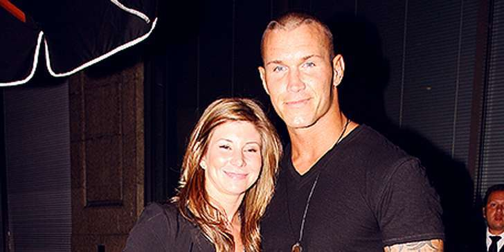 Randy Orton And His Wife Samantha