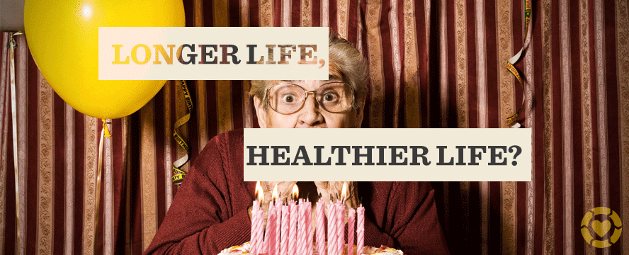 Longer Life Healthier Life Infographic Ecogreenlove