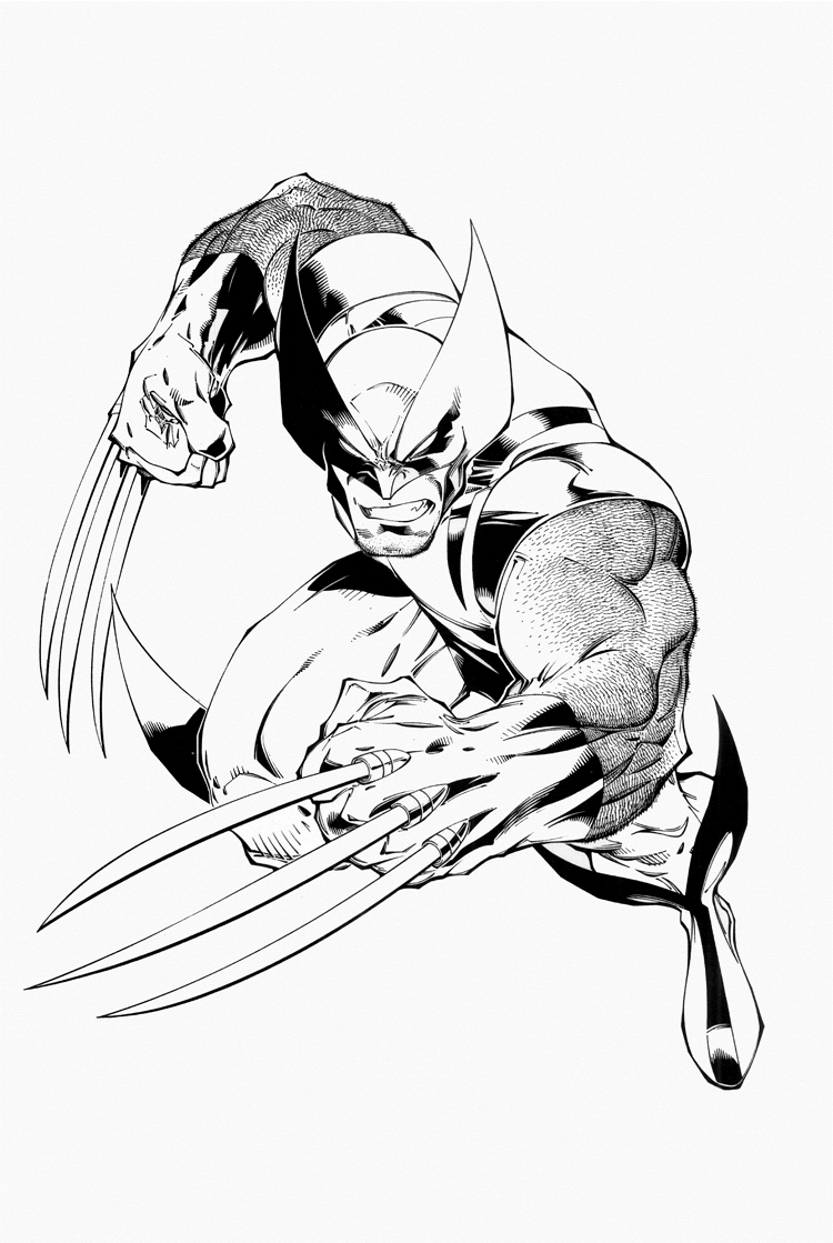 Wolverine Coloring Page Free Coloring Pages Download | Xsibe ghost ...
