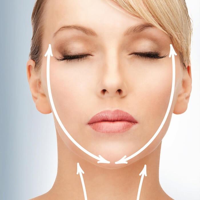 سفت کردن چهره های بیضی شکل: روش های ساده خانه