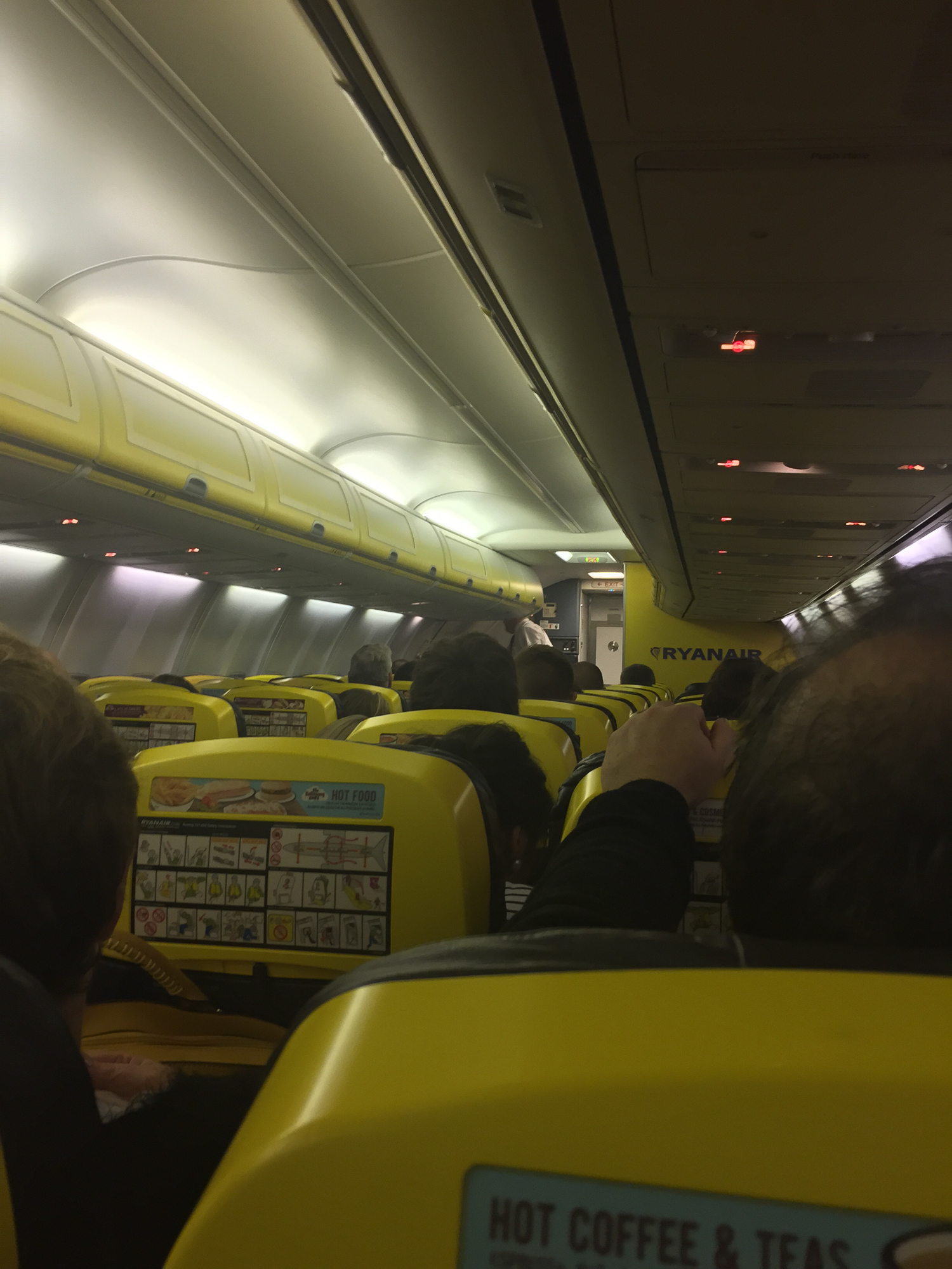 Snapshot Ryanair Birmingham To Dublin Economy Class