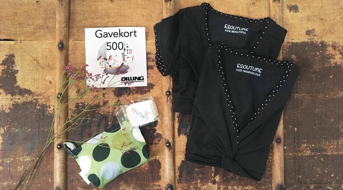 3. advent giveaway: Vind øko undertøj & en bluse eller T