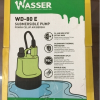 Submersible Pump / Pompa Celup Wasser WD 80E