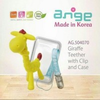 Ange Giraffe Teether with Clip and Case Gigitan Bayi Murah