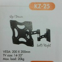 BRACKET TV LED LCD - BREKET TV - BRAKET TV 14 - 33 INCH KENZO KZ 25